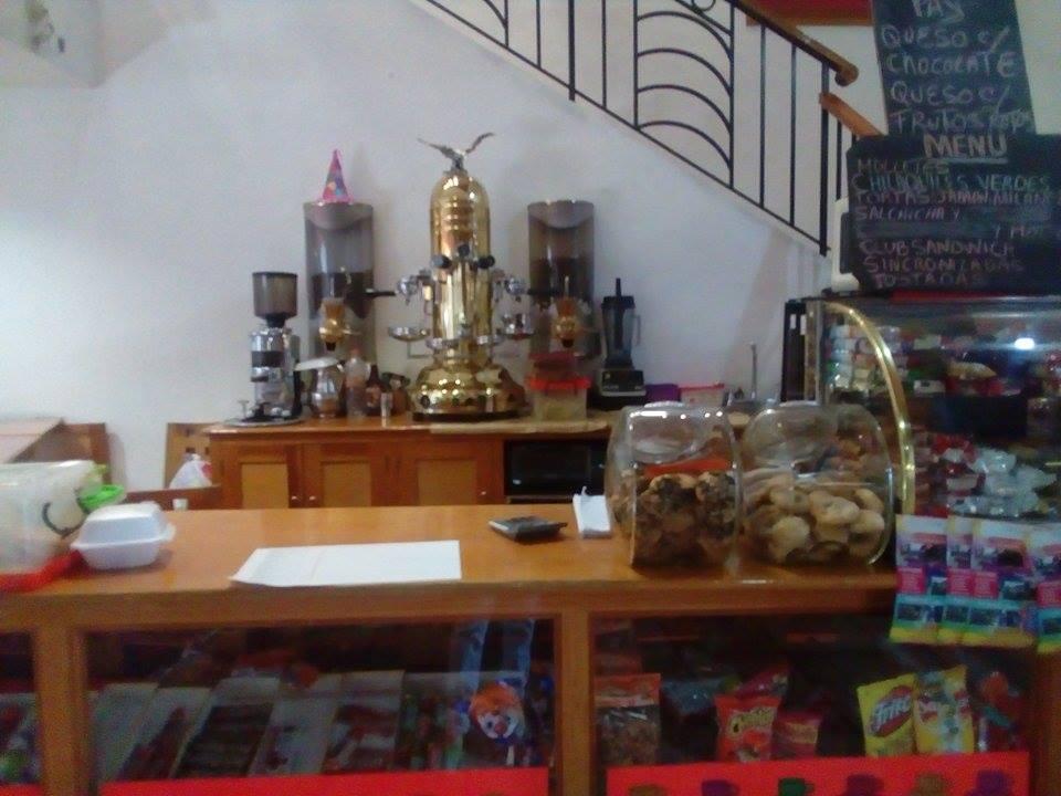 Mostrador de cafetería
