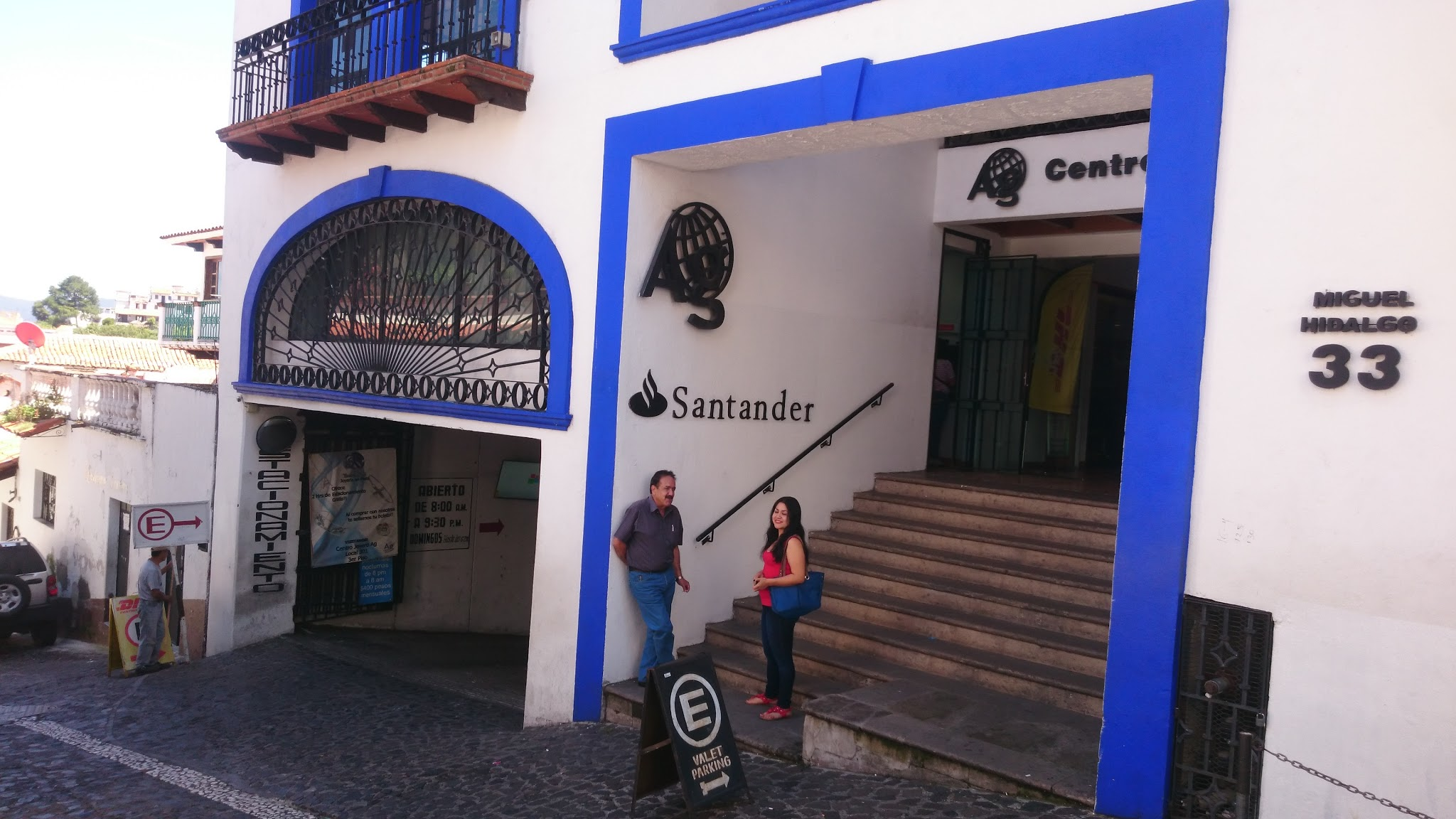 Fotografía de entrada del Centro Joyero